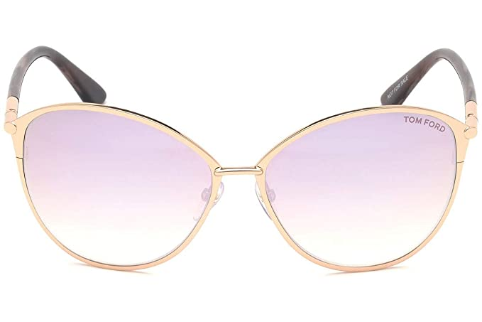 Tom Ford Gafas de sol de mujer FT0320 col. 28Z: Amazon.es ...