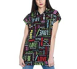 Love Moschino Women S W637000m40190027 Black Cotton T Shirt