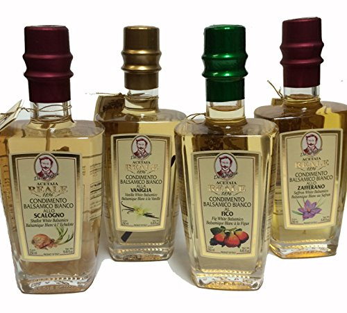 Saffron Infused 4 Year Aged White Balsamic Vinegar by Acetaia Reale