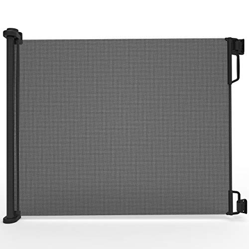 Perma Child Safety Outdoor Retractable Baby Gate, Extra Wide