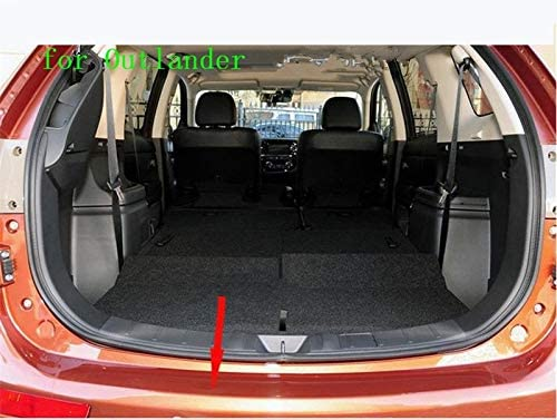 Stainless Steel Rear Bumper Protector Sill For Mitsubishi Outlander 2013 2015 2016 2017 2018 Car-styling Car-covers