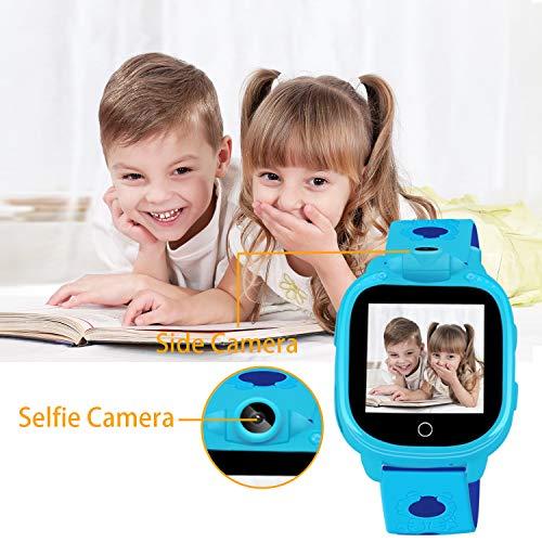 Prograce Kids Smartwatch with 90°Rotatable Camera Touchscreen Kids Watch Music Pedometer Flashlight Games FM Radio Kids Smart Watch Sports Watches Digital Wrist Watch for Boys by Prograce (Image #2)