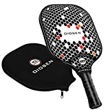 OIOSEN Graphite 1.0 Pickleball Paddle, USAPA Approved Pickleball Racket Polypropylene Honeycomb Core/Graphite Face