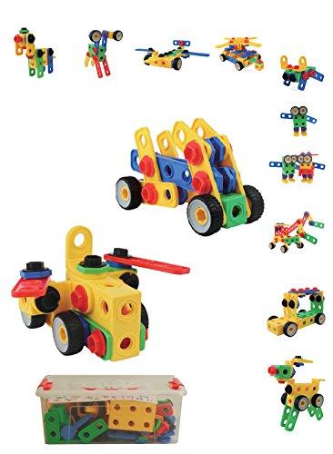 Build & Imagine Creative Builder Blocks 120 Piece Set In A L