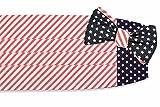 High Cotton Men's Self Tie Stars and Stripes Cummerbund Set