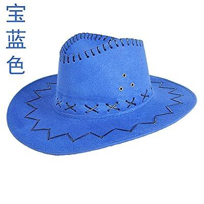 À l'été de l'avant-toit Cap Shaded Sun Hat Chapeaux mode Plein Air Marée Sport et loisirs (56-58cm ,M), Bleu royal