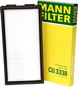 Mann-Filter CU 3338 Cabin Filter for select BMW models by Mann Filter by Mann-Filter