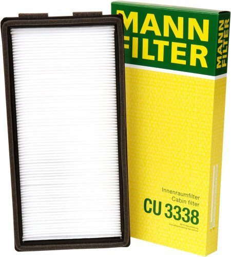 Mann-Filter CU 3338 Cabin Filter for select BMW models by Mann Filter