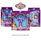 Sofia the First Double Jewelry and Hair Accessories Box Sets