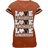 Texas - Foil Love Game Day Girls Youth T-Shirt
