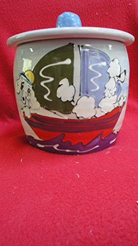 Treat Jar. Personalized at no Charge. Signed by Artist, Debby Carman. by Faux Paw Productions, Inc., Laguna Beach, CA