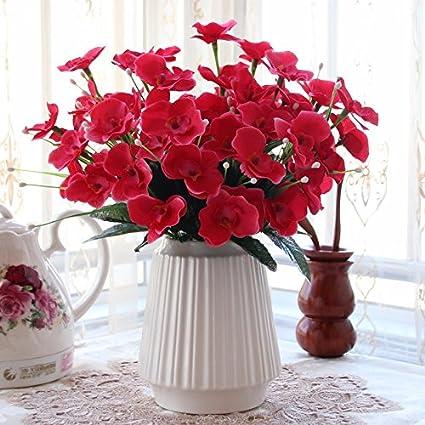 Kit de Flores de emulación Decoracion columpio en el salón decorado con flores decoración floral,