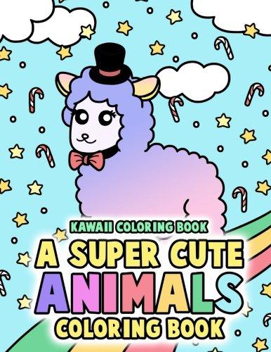 Kawaii Coloring Book A Super Cute Animals Coloring Book Includes