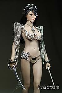 1/6 Female Figure Clothing Accessories Metal Bracelet Sword F 12'' Girl Body