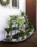 Plant Terrace 3-Piece Set, Green