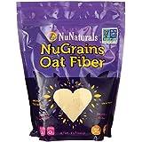 NuNaturals, NuGrains, Premium Grains, Oat Fiber, 1 lb (454 g)