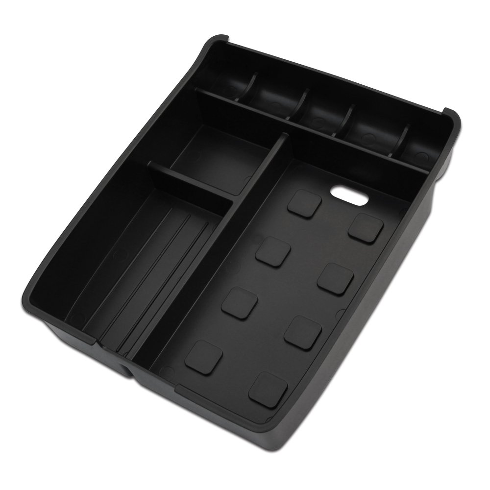 9 MOON Armrest Center Console Storage Box Fits Toyota Highlander 2009 2010 2011 2012 2013