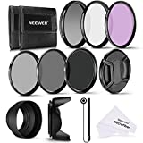Neewer 52MM Professional UV CPL FLD Lens Filter and ND Neutral Density Filter(ND2, ND4, ND8) Accessory Kit for Pentax DSLR Cameras