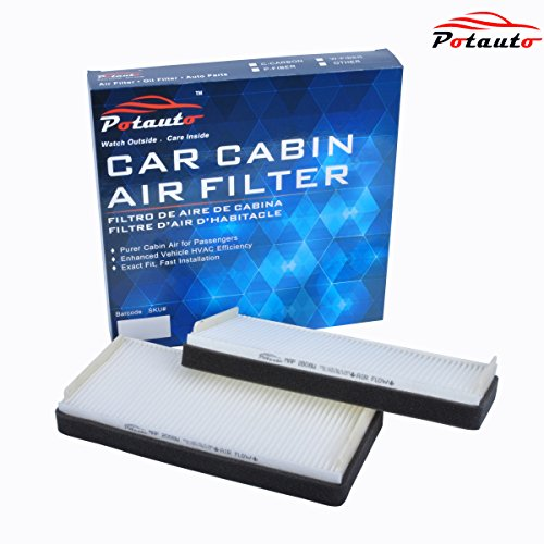POTAUTO MAP 2008W Cabin Air Filter Replacement compatible with MAYBACH, 57, 62, MERCEDES, CL Class, E Class, S Class