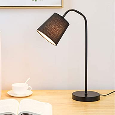 Lampara de mesa Creativo elegante Lámpara de mesa de hierro ...