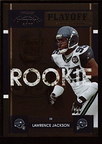 Hawks Tickets - LAWRENCE JACKSON /99 $12+ MINT SEAHAWKS ROOKIE TICKET RC 2008 PLAYOFF CONTENDERS
