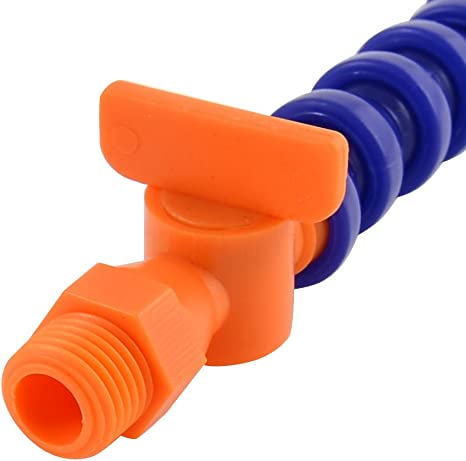 4Bsp Hilo De Aceite En Agua De La Manguera De Refrigerante De Tubo Flexible De 50 Cm Tubo sourcingmap Boquilla Redonda 1