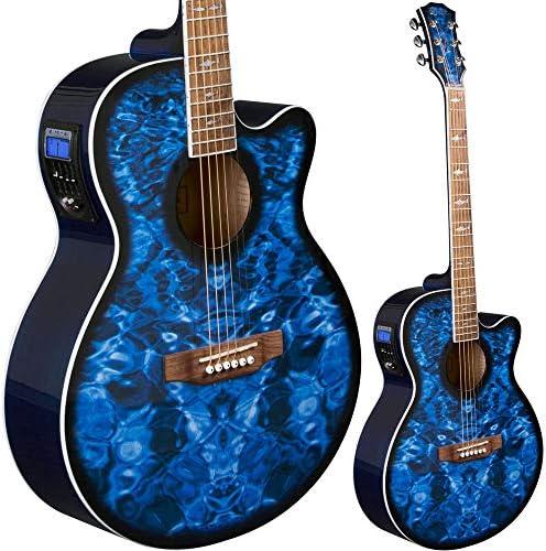Lindo LDG-BS - Guitarra electroacústica (preamplificador, afinador ...
