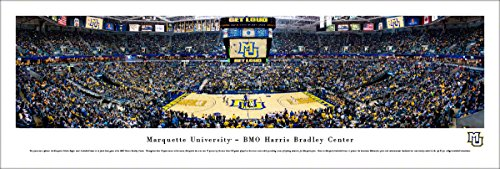 Marquette Basketball - Final at Bradley Center - Unframed 40 x 13.5 Poster by Blakeway Panoramas