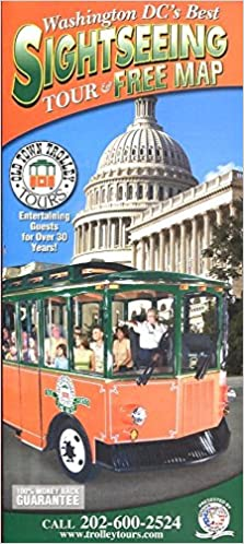 OLD TOWN TROLLEY TOURS: WASHINGTON DC'S BEST SIGHTSEEING TOUR & MAP Dc Trolley Map on