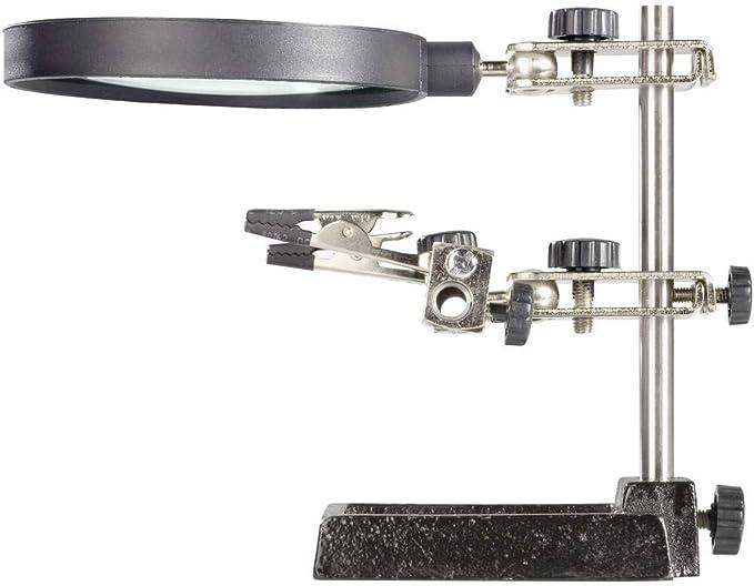 ZD-10D Dritte Hand Löthilfe mit Lupe Lötset Zubehör