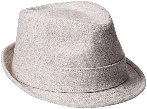 New Era Fedora (New Era Cap Men's EK Wool Fedora Hat, Oatmeal, X-Large)