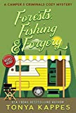 Forests, Fishing,  & Forgery: A Camper and Criminals Cozy Mystery Series Book 3