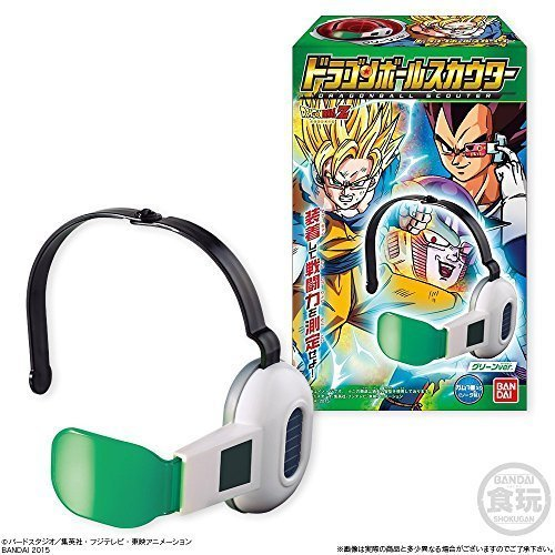 - Bandai Dragon Ball Z Cosplay Warrior Adjustable Green Lens Scouter Toy