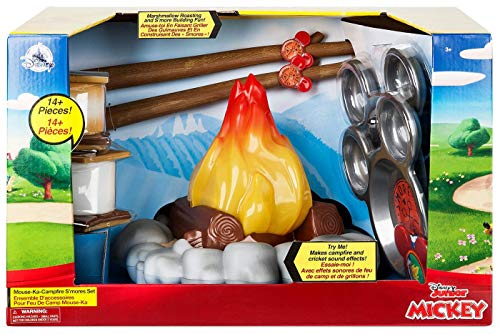 Disney Mickey Mouse Mouse-Ka-Campfire S'Mores Set No Color