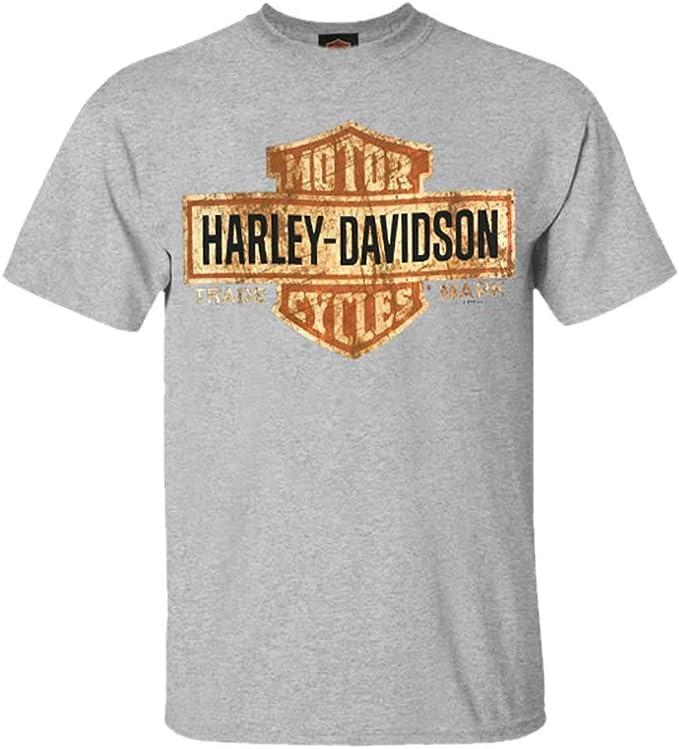 Distressed Bar & Shield Harley-Davidson Men's Tee