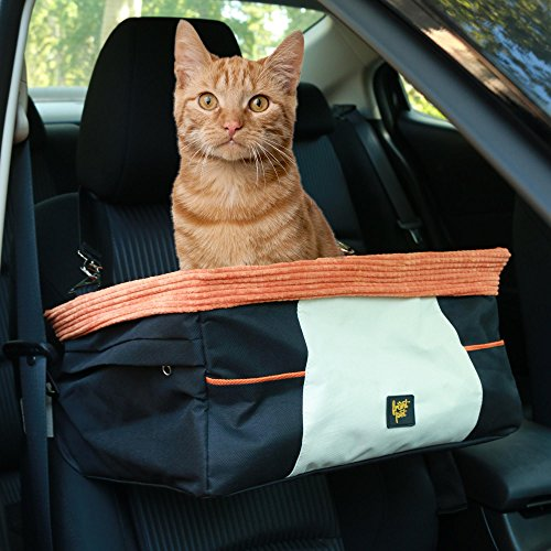 Amazon Frontpet Dog And Cat Car Booster Seat Travel Small Animal Lookout Carrier Pet Supplies