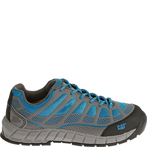 Women's Caterpillar Womens Streamline Composite Toe Work Shoe (10 W in Blue) by Caterpillar