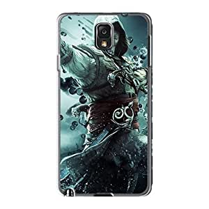 Premium Assassins Creed Iv: Black Flag Heavy-duty Protection Case For Galaxy Note3