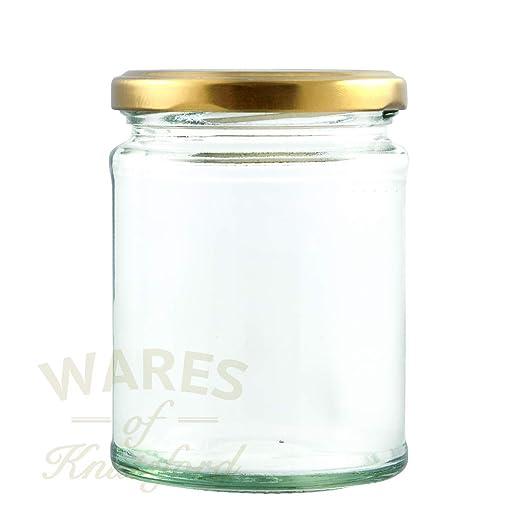 Wares of Knutsford 100 X frascos de Vidrio para Alimentos (190ml ...