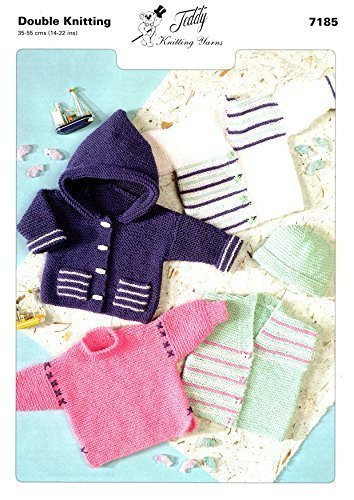 Teddy DK Knitting Pattern Childrens Jacket - 7185 V&A Products