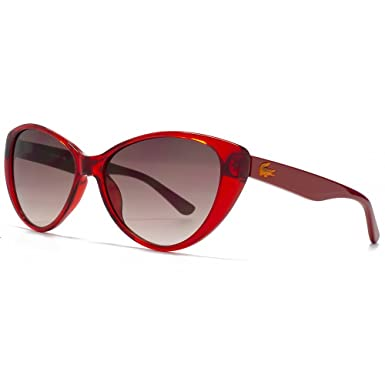 5c0b989d9fd Image Unavailable. Image not available for. Colour  Lacoste Childrens  Cateye Sunglasses in Crystal Red L3602S 615