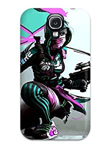Everett L. Carrasquillo's Shop 5696869K62598916 New Game Girl Sketch Tpu Skin Case Compatible With Galaxy S4