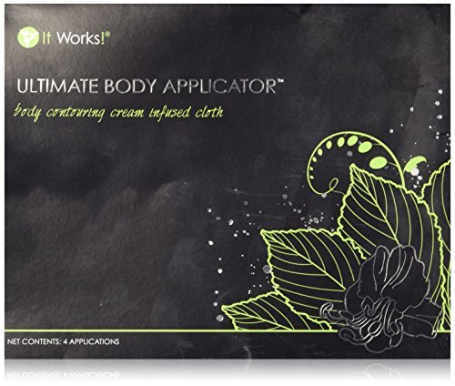 It Works Ultimate Body Wrap Applicator 4-pack and mini defining gel by It Works