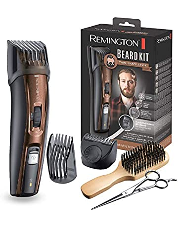 Remington MB4045 - Kit Recortador de Barba, 5 Accesorios y Barbero, Inalámbrico, Litio