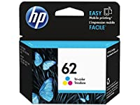 HP 62 Tri-color Original Ink Cartridge (C2P06AN) from Hewlett Packard SOHO Consumables