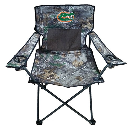 (Rivalry NCAA Florida Gators Realtree Camo Folding Chair)