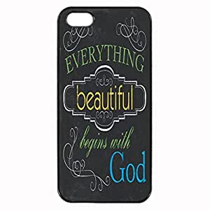 Everything Beautiful Durable Unique Design Hard Back Case Cover For iPhone 5 5S