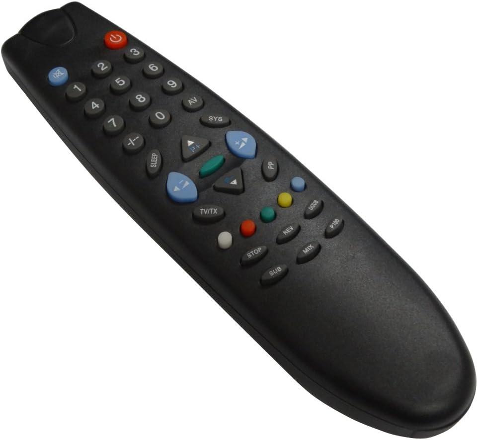 Aerzetix - DIS209 Mando a distancia para televisor compatible con ...