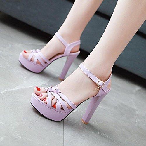 da purple tacco sposa YMFIE con tacco donna alti e e alto Tacchi da per donna sandali con alto Rq7pT