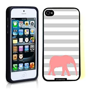 For HTC One M9 Phone Case Cover Thinshell Case Protective For HTC One M9 Phone Case Cover Shawnex Elephant Stripes